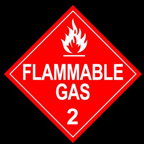 Class 2.1 - Flammable Gas