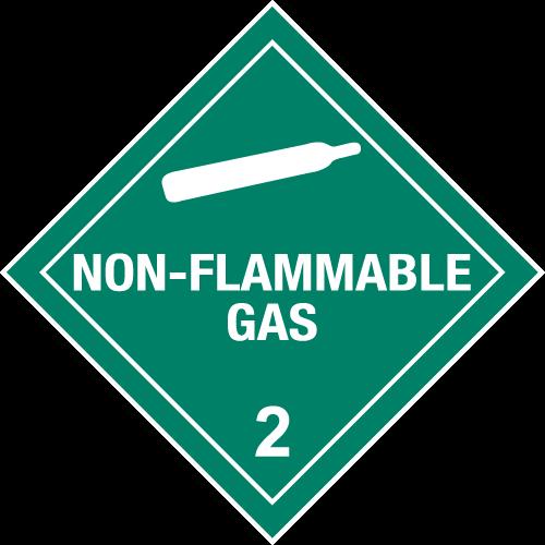 Class 2.2 - Non-Flammable Gas