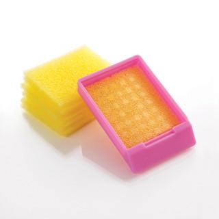 Biopsy Foam Pads, Yellow PK/1000