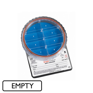 Empty CoreDish, 8 Comp , General Purpose Biopsy   Cancer