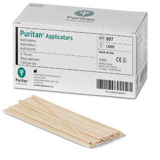 Wood Applicator Stick, Barrel Shape
