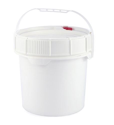 Gallon Pail (Screw Top) Containers, Life Latch, 3.5 Gallon
