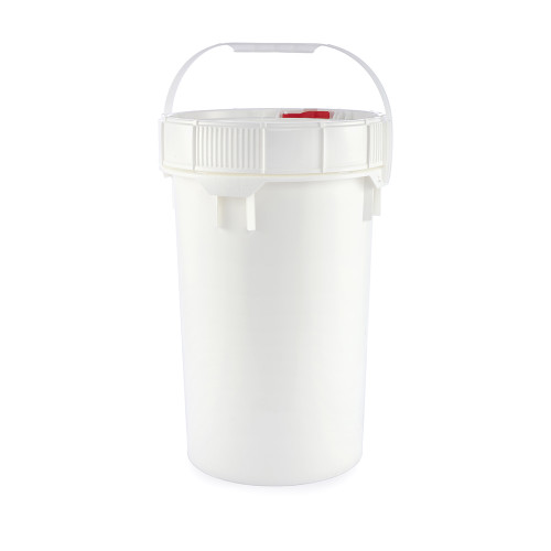 Gallon Pail (Screw Top) Containers, Life Latch, 6.5 Gallon