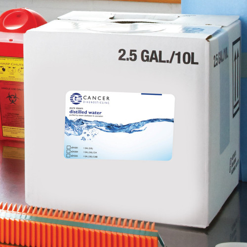 Distilled Water, CS/4 Gallon.