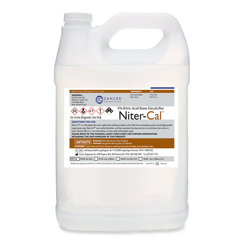 Niter-Cal (Nitre, Nitric) Decalcifier