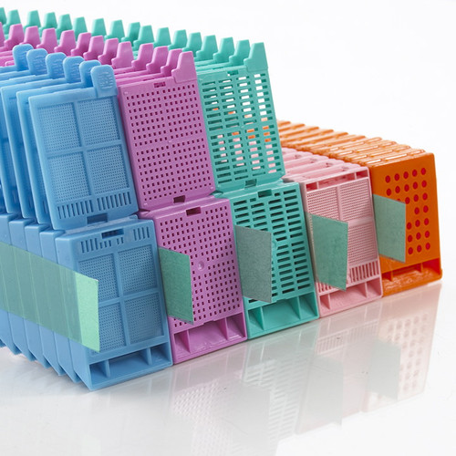 1-Piece (Molded) Slat Cassettes, Taped Stacks, Case/1500