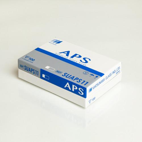 Matsunami APS Adhesion Slides, Box of 100