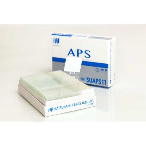 Matsunami APS Adhesion Slide outisde of box