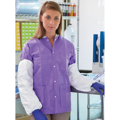 Disposable Waist Length Lab Jacket
