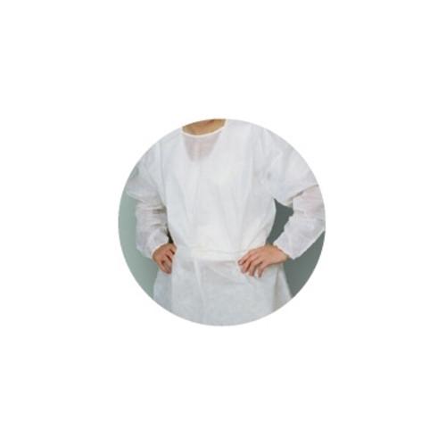 Lab Coats, Knee Length, PK/10, White