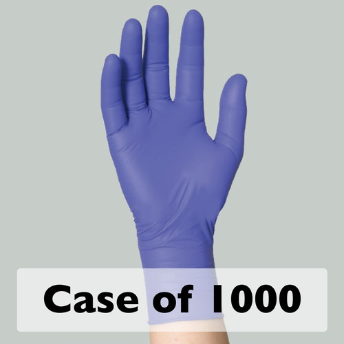 Purple Nitrile Gloves, CS/1000