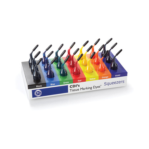 Tissue Marking Dye, Squeezers, Kit, 6-color