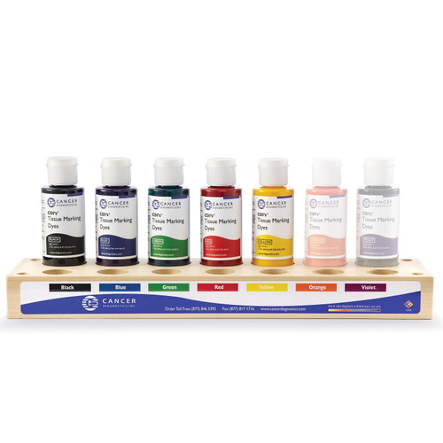 Tissue Marking Dye 5 Color Kit With Wood Tray