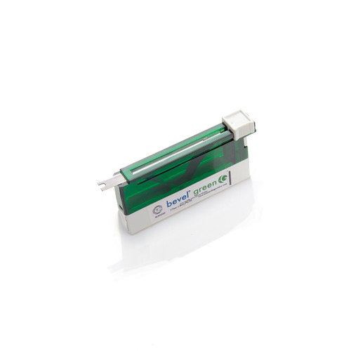 Bevel Green Coated Microtome Blades