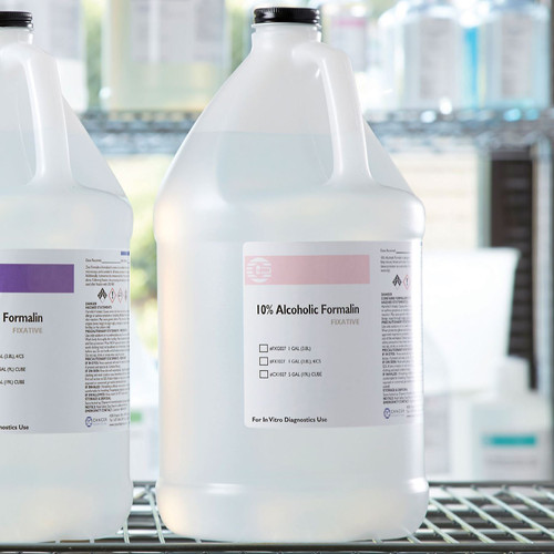10%, Alcoholic Formalin Gallon CS/4