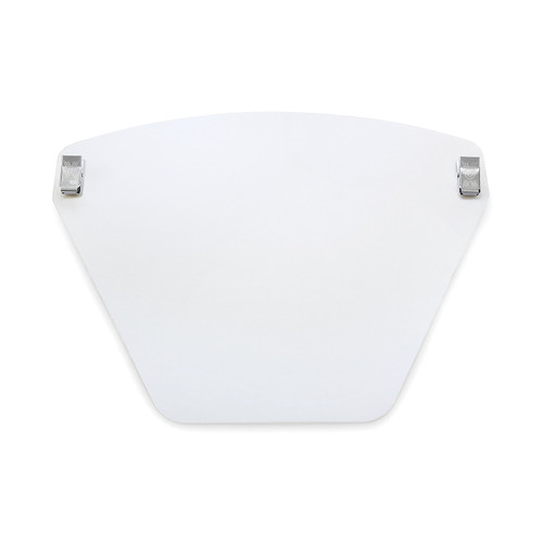 Invisi-Shield Face Shield, Clip-On 8""