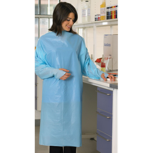 Gown, Impervious Blue PK/20