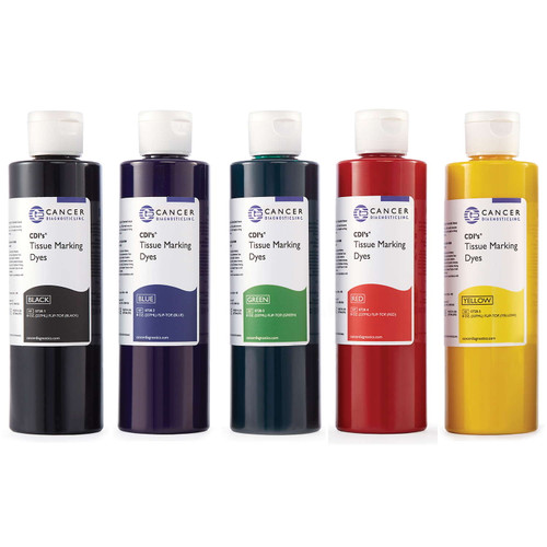 CDI Tissue Marking Dye 8 Ounce Set of five