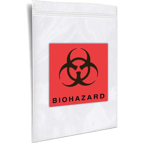 BioHazard Transport Bags, 3x5 inch
