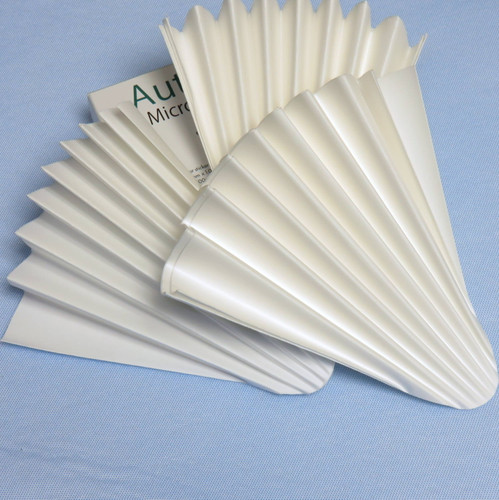 Fluted Qualitative Cellulose Filter Paper - PK/100
