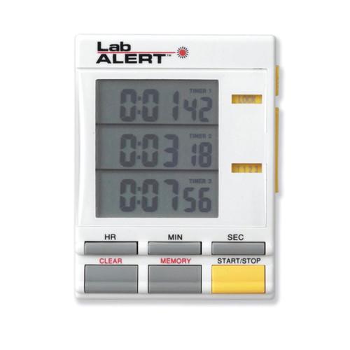 Lab Alert Tripple Timer Clock