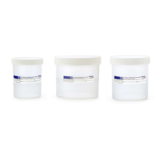 Large Prefill Formalin Containers