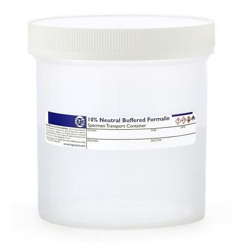 Large Prefill Formalin Jars, 500mL