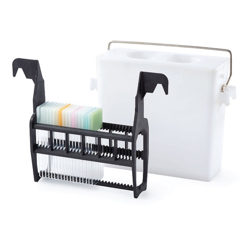 Leica Staining Rack and Dish