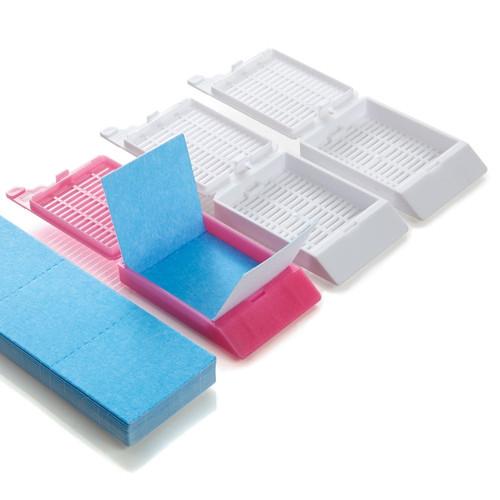 Tri-Fold Secure Biopsy Paper, Blue