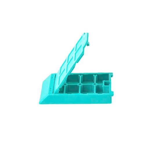 6 Comp. Mesh Biopsy Cassette Aqua