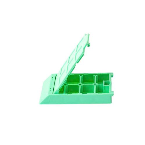 6 Comp. Mesh Biopsy Cassette Green