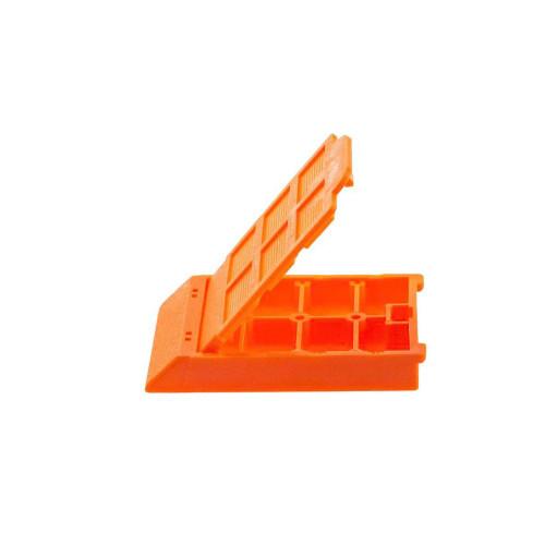 6 Comp. Mesh Biopsy Cassette Orange